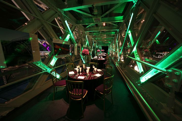 Tower Bridge Walkways, an unusual venue in London