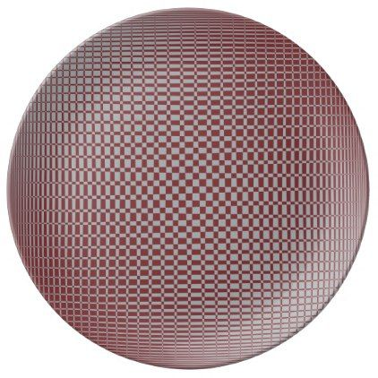 Shimmer - Red Pear on Harbor Mist Grey Plate - pattern sample design template diy cyo customize