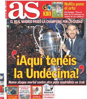 Las portadas de Marca, As, Sport y M. Deportivo | Defensa Central