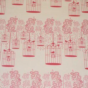 vogel kooitjes wit roze