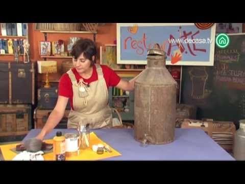 Como hacer un reloj de cocina reciclando una sartén vieja - YouTube