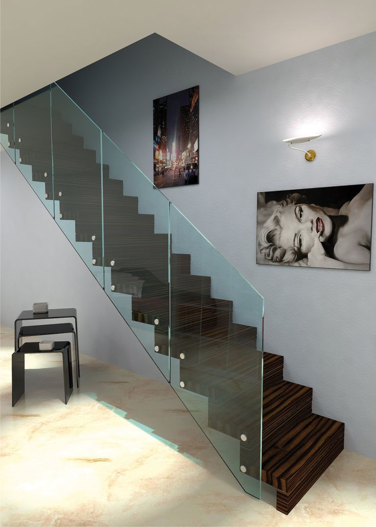 19 best fixation garde corps verre images on Pinterest Staircases - porte coulissante fixation plafond