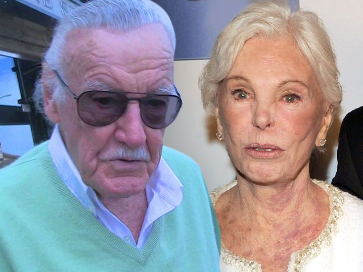 Stan Lee's wife, Joan, has died after suffering a stroke this week.