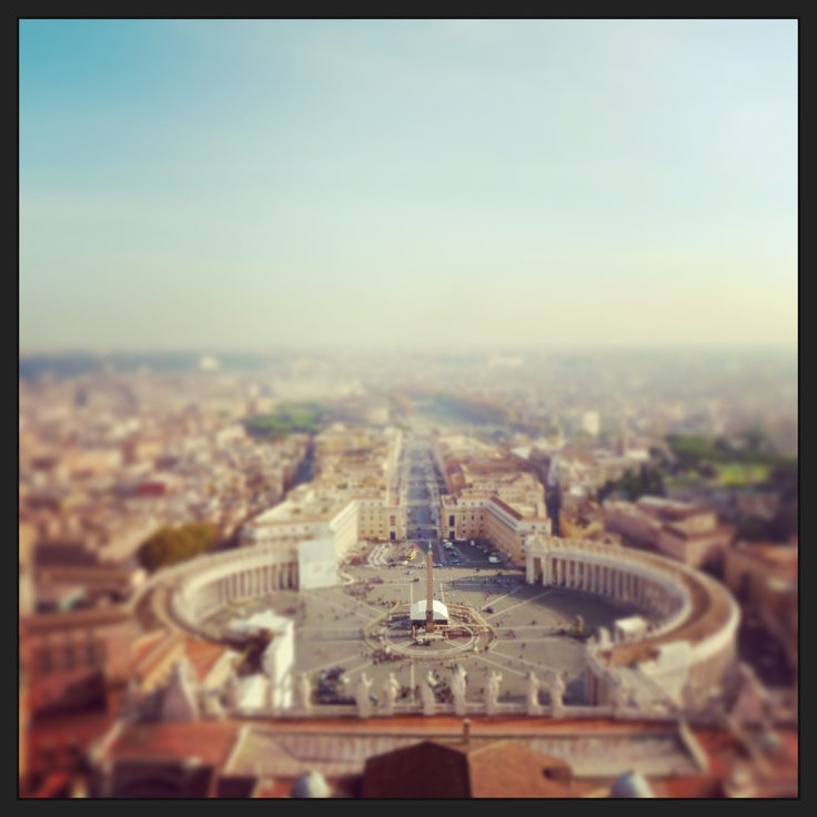 Roof of St Peter's Basilica, 2012. Find out how to get to the top of the Basilica