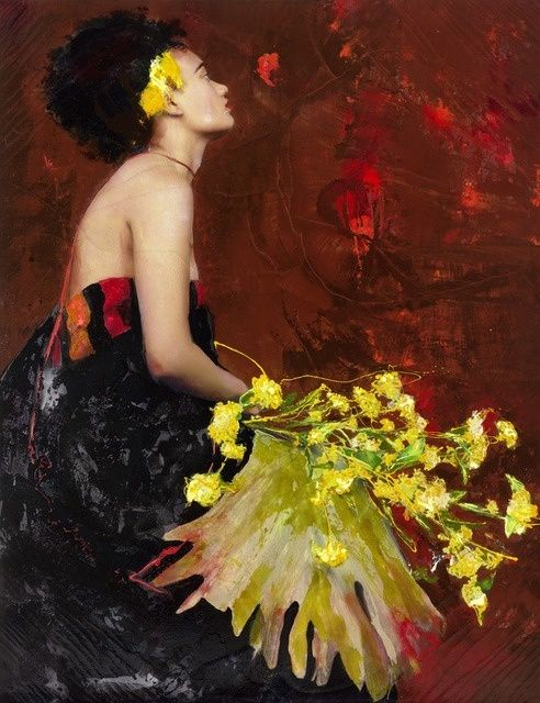 Lita Cabellut | Color of Dew 16 (2015) | Available for Sale | Artsy