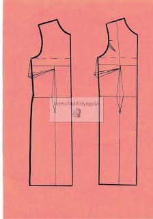 Patrones de Costura: CÓMO HACER UN VESTIDO DE FLAMENCA CON HOMBROS DESCUBIERTOS