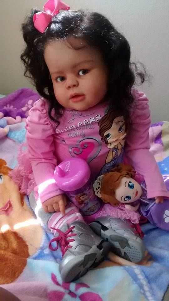 Ethnic Aa Biracial Reborn Toddler Peggy By Regina