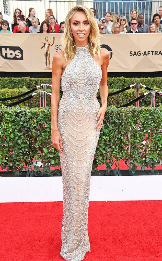 Giuliana Rancic from 2017 SAG Awards: Red Carpet Arrivals - I think my favorite dress of the night!