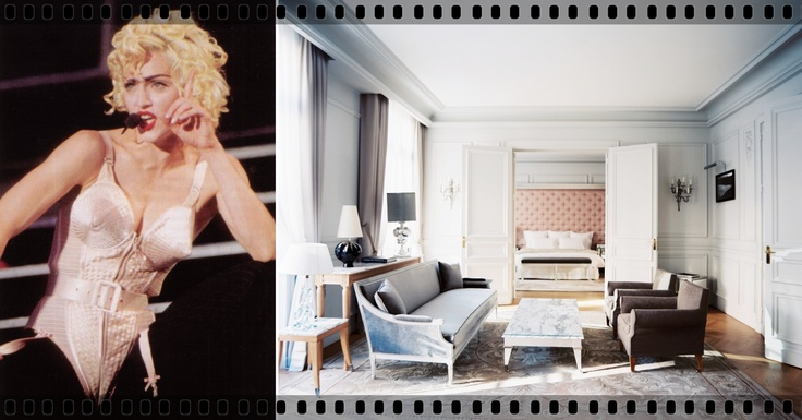 Le Royal Monceau Hotel, Paris, France, where Madonna filmed her infamous video for Justify My Love