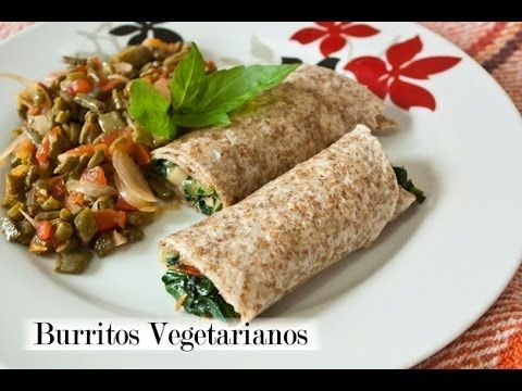 Burrito Vegetariano Muy Saludable