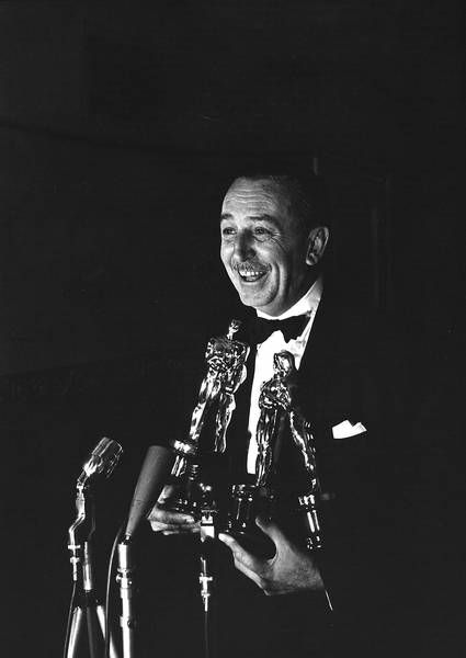 At the 26th Annual Academy Awards in 1954, Walt Disney took home four Oscars awarded for Best Documentary Feature, Best Documentary Short Subject, Best Short Subject Cartoon, and Best Short Subject Two-Reel. (He still holds the record for most individual Academy Awards won.) Despite this success, the coveted Best Picture nomination still eluded Disney. Credit: Getty Images