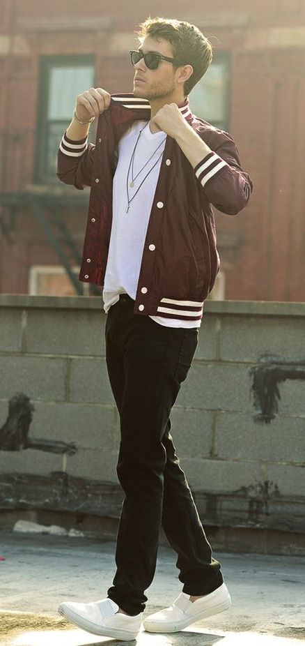 Brad. I love this kind of jacket for him. This plus jordans would be a great look.