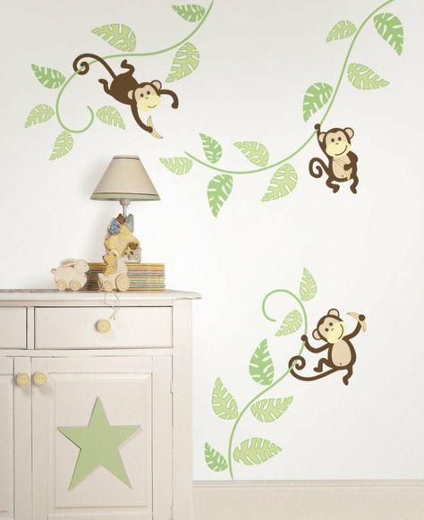 Wandsticker Kinderzimmer Farbe und Freude an der