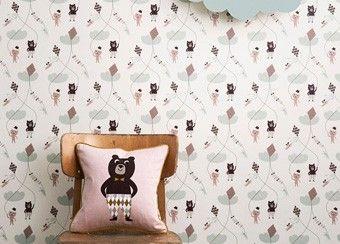 Coussin animaux rigolos 30x30cm Ferm Living | shop pour enfants Le Petit Zèbre http://www.petitzebre.com/categorie/bonne-nuit-les-petits/coussins-decoratifs/coussin-animaux-rigolos-30x30cm-chien @Le Petit Zèbre boutique en ligne #enfants #déco #decoration #chambre #coussins #rose