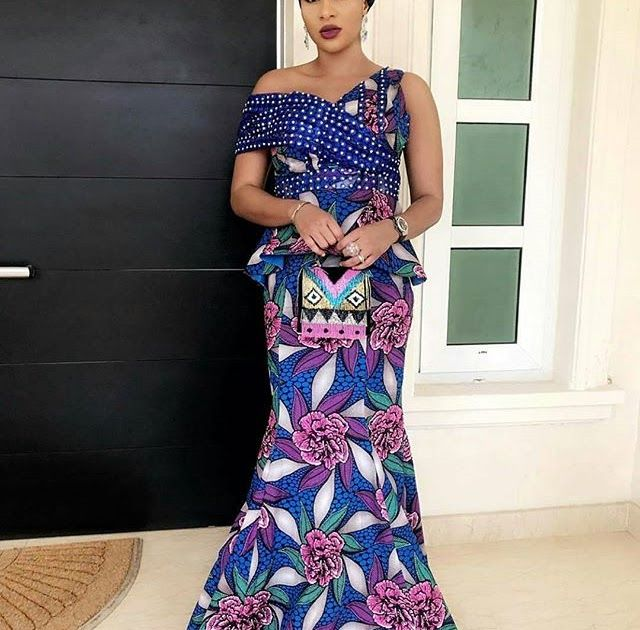 Super Gorgeous Ankara Styles for Ladies to Look Outstanding and Cute #ankara_styles #latest_ankara_styles