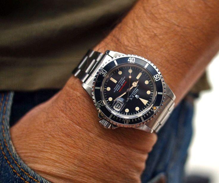 Rolex Submariner Black On Wrist