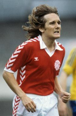 Allan Simonsen - Former danish footballplayer. Playing as a striker for Borussia Mönchengladbach, FC Barcelona and danish Vejle BK and the danish national football team. Was named 1977 European Footballer of the Year voted into the Danish Football Hall of Fame.