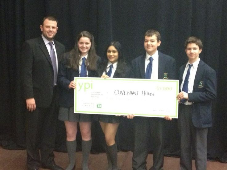 Congratulations and kudos to a high school student group from Crestwood Preparatory College who competed in the Youth and Philanthropy Initiative (YPI) challenge. They presented a Covenant House Toronto case for support and won $5,000 from the Toskan-Casale Foundation for our kids!  You have made a tangible difference in the lives of your peers who are struggling with homelessness. On behalf of our youth, thank you.