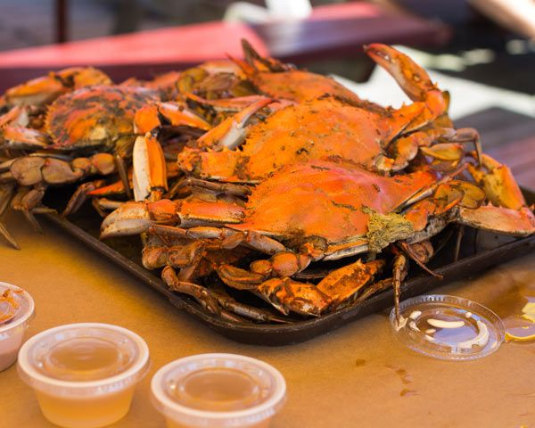 Maryland's Top 12 Crab Houses. I don't eat crabs, but they remind me of home so I love them