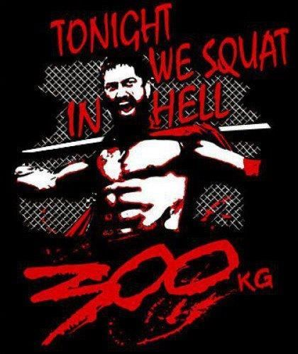 Tonight We Squat in Hell! | getfitandmotivated.com