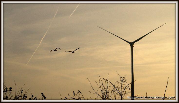 Windmolens in Nieuwegein