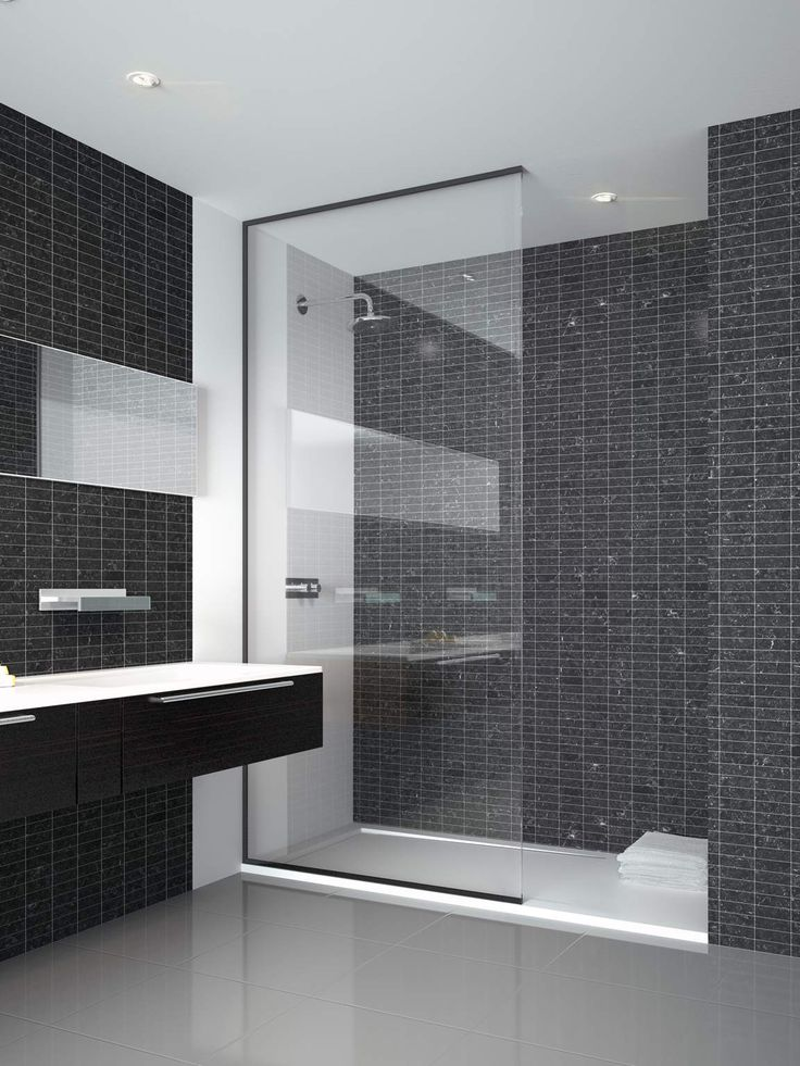 The Neon 01 Frameless Fixed Panel Walk In Shower Screen From Theshowerlab™  Is A