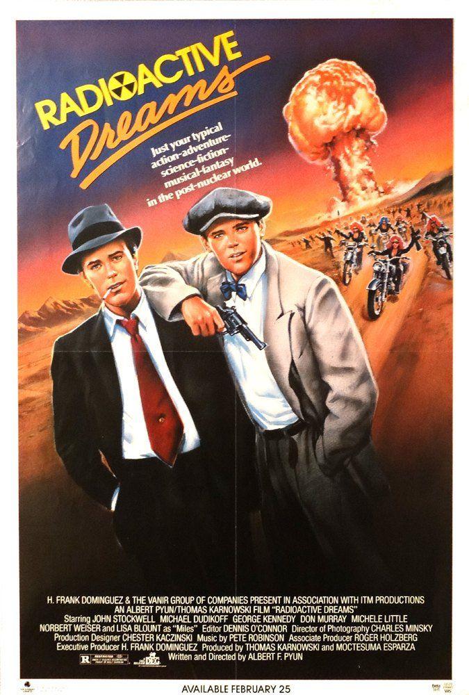 Radioactive Dreams 1985 Original U S 27 X 41 Movie Poster