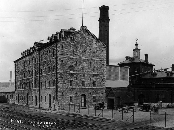 Gooderham & Worts, Ontario, Canada 1918