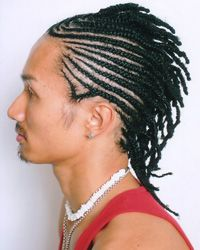 When many people think about braided hairstyles, they conjure up images of women's tresses, but many men wear their hair in braids, too.