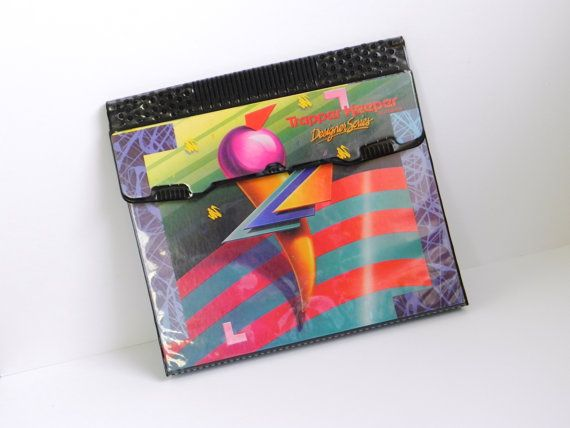 TRAPPER KEEPER BINDER Vintage School Supplies by happyendingsjj, $18.00