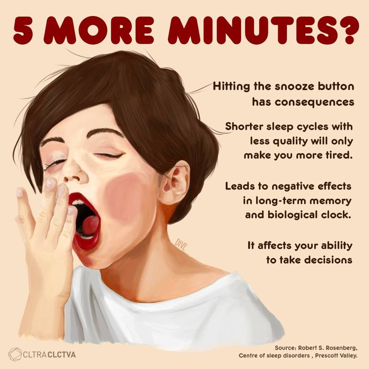 Do you nees 5 more minutes? these are the consequences.