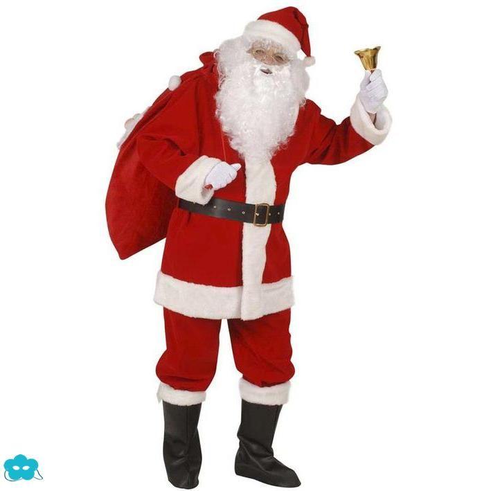 Disfraz de papá Noel para hombre talla grande