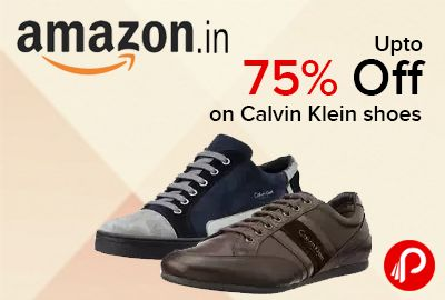 Amazon is offering Up to 75% off on Calvin Klein #shoes. Online shopping for International Shoes Store from a great selection of Casual Shoes, Sport Shoes and more at everyday low prices.  http://www.paisebachaoindia.com/up-to-75-off-on-calvin-klein-shoes-amazon/
