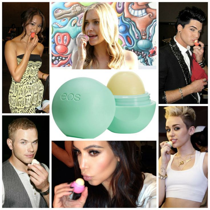 Eos Lip Balms available at The Bikini Club South Africa - Order on www.thebikiniclub.co.za