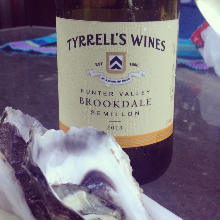 Loving this Tyrrells Wines semillon - perfect match with seafood - #huntervalley #semillon www.tyrrellswines.com.au