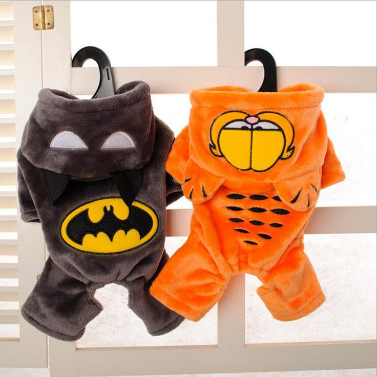 Batman and Garfield Dog Costumes //Price: $14.48 & FREE Shipping //     #dogs #cats #cute #pet #lovepets #goodsforpets #dogbeds #catbeds #dogcostumes #catcostumes #itspetsworld #furbaby #kitty #pooch #funnydogs #funnycats #dogworld #catworld