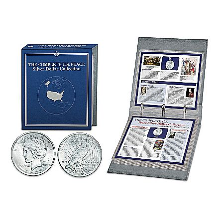 Coins: The Complete U.S. Peace Silver Dollar Coin Collection