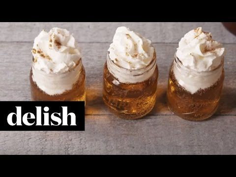 Cinnamon Roll Shooters Recipe-How to Make Cinnamon Roll Shooters-Delish.com