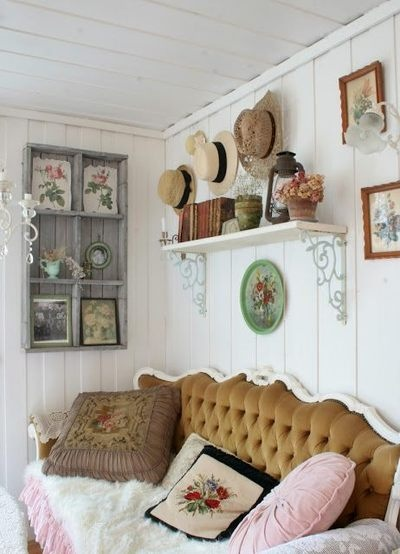 172 best vintage living rooms images on Pinterest | Home ideas ...