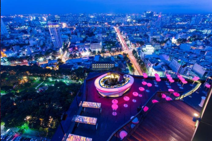 What To Do In Ho Chi Minh City Saigon Best Rooftop Bars Ho Chi Minh City Rooftop Bar