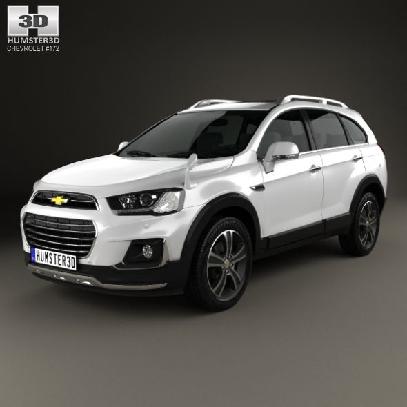 Chevrolet Captiva Jp 2015 By Humster3d The 3d Model Was Created