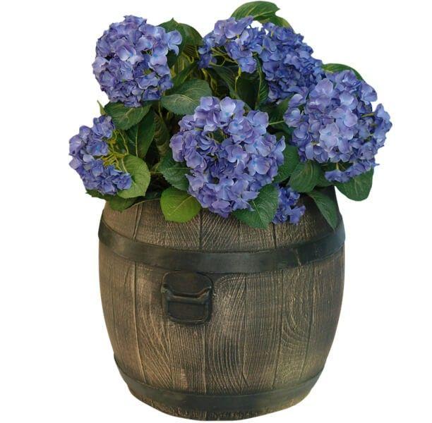 Blumentopf Roto mit Blumen (exklusive).