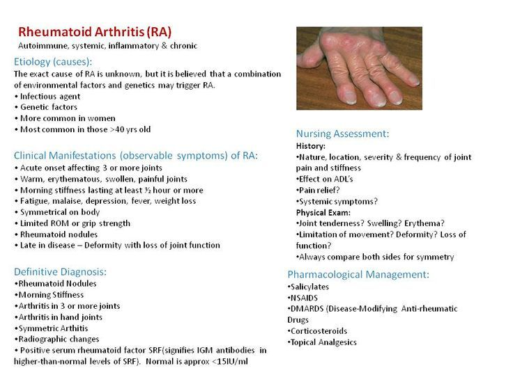 rheumatoid arthritis with joint arthroplasty evolve case study quizlet