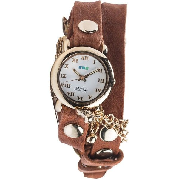 La mer skull charms watch ($106) ❤ liked on Polyvore