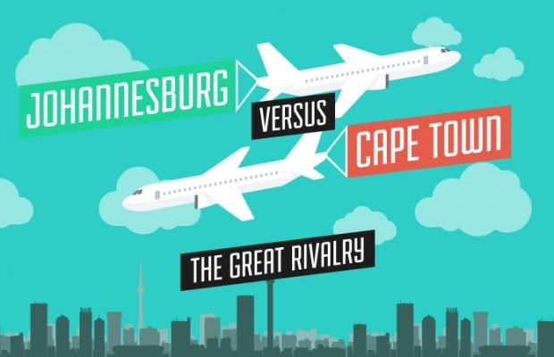 Johannesburg vs Cape Town