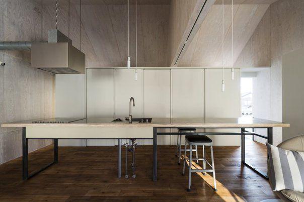 Japan GO BANG house interior Takeru Shoji Architects
