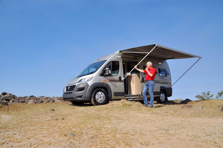 At 5.99 m the Horizon Melaleuca is compact but highly liveable – for one or two people.  #HorizonMotorhomes