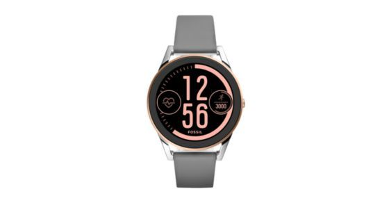 Our Q Control touchscreen smartwatch is prepared for any adventure with all-new heart rate tracking. Customize the full-round display with your handiest features, receive notifications (on the go) and automatically track your activity from the hiking trails to the gym.Powered by Android Wear™, Fossil Q Control is compatible with phones running Android™ 4.3  or iOS 9.0 . Supported features may vary by platform. Android and Android Wear are trademarks of Google Inc.