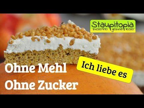 Low Carb Kürbiskuchen mit Cream Cheese Frosting - Keto-Rezepte.de