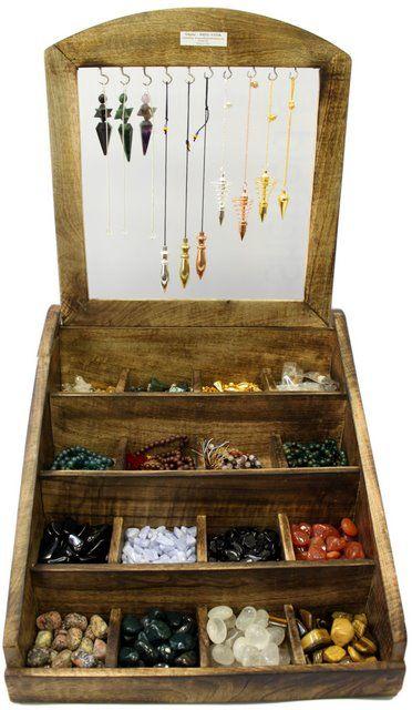 Pendulum display holder idea